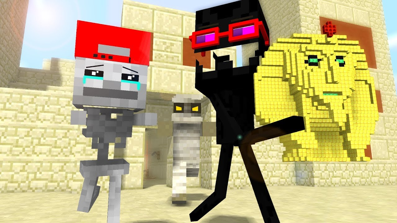 Mob Kids Life 5 - Craftronix Minecraft Animation
