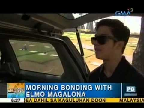 Unang Hirit: Morning bonding with Elmo Magalona