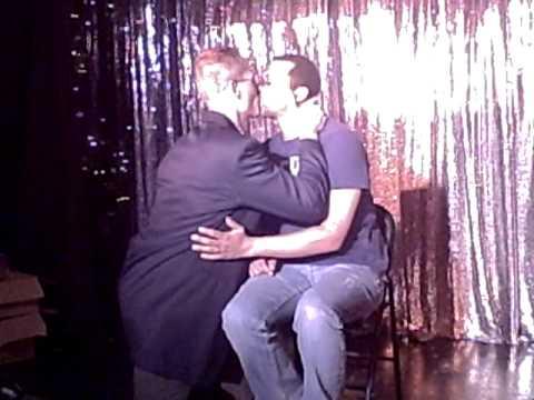 gay couple wedding proposal @ cruisin 7th bar 11-19-09