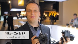 Nikon Z6 & Z7 | Vollformat-DSLMs im Hands-On-Test [photokina 2018]