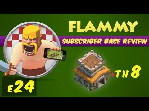 Clash of Clans Subscriber Base Review #24 - Town Hall 8 - Defensive Strategy