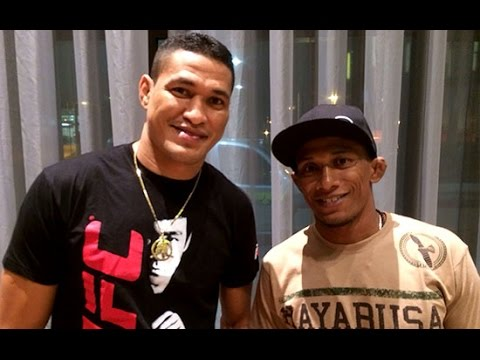 Iuri e Ildemar Marajo relembram lesões que sofreram idênticas a de Anderson Silva