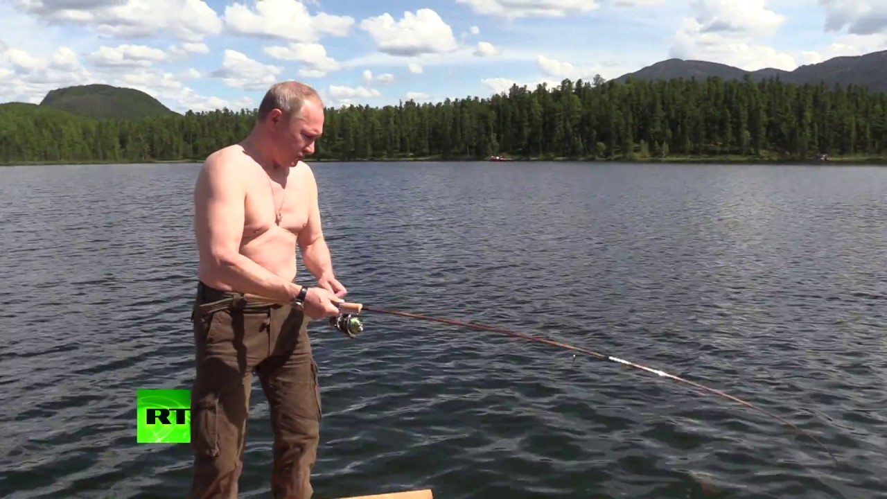 Siberian adventure: Putin fishing with Shoigu