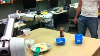 RAS SAC Video Contest Submission: Robot Making Pizza