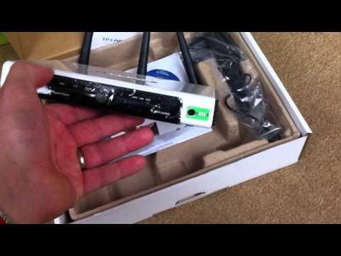 Test: TP-Link TL-WR1043ND 300Mbps Ultimate Wireless Netzwerk Gigabit Router