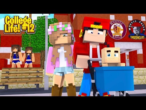 Minecraft College Life - ROPO & LITTLE KELLY HAVE A BABY!!