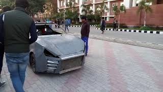 1st Testing of DR15 | Random Video #Rusty_Badges | Automobile Engineers @ CHANDIGARH UNIVERSITY