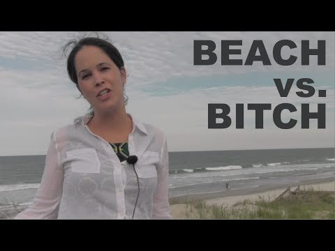 How to Say BEACH vs. BITCH and SHEET vs. SHIT — American English