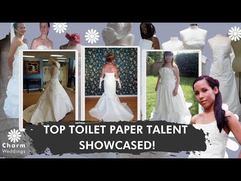 Cheap Chic Weddings 2009 Toilet Paper Wedding Dress Contest