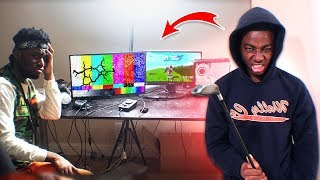 ANGRY KID LOSES & DESTROYS MY GAMING SETUP after this... (CALLED HIS MOM)