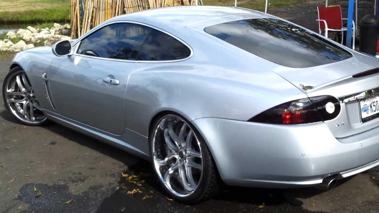 Jaguar Xk On 22 Quot Savinis Youtube