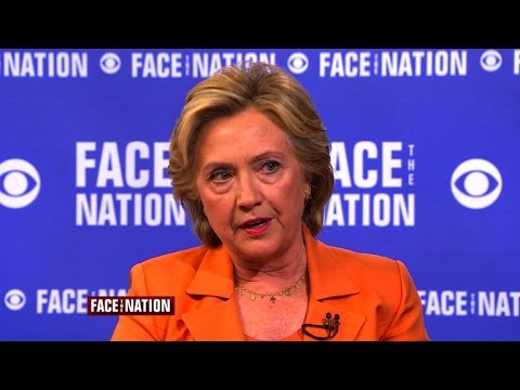 """Flashback Friday: Hillary Clinton says don't """"give up"""" on aiding Syrian rebels"""