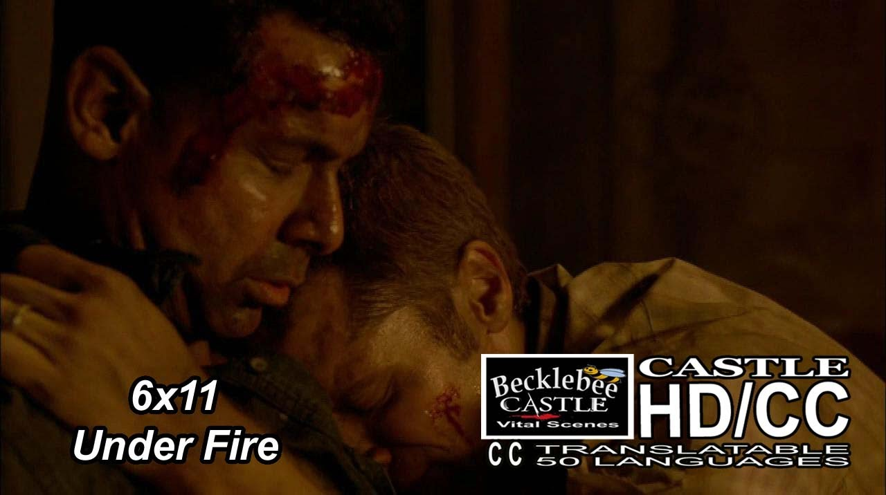 castle under fire