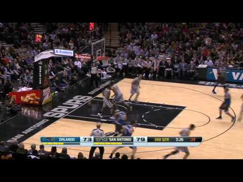 Orlando Magic vs San Antonio Spurs | March 8, 2014 | NBA 2013-14 Season