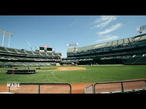 Flipping Oakland S Field From Baseball To Football