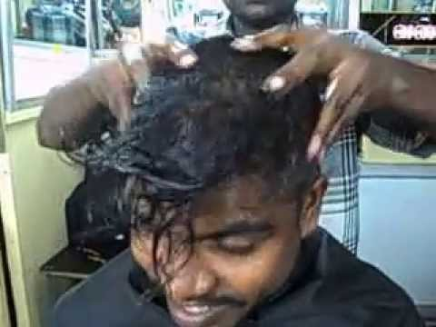 Head Massage With Oil video