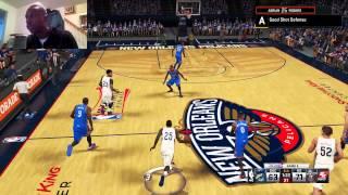 WCF Game 4 NBA2K15 My Career - Episode 2 - Adrian Rogers Pelicans Point Guard