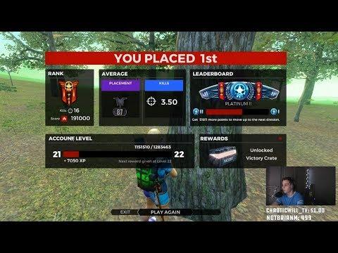 H1Z1 16 Kill Solo Victory - Mayhem AR-15 Giveaway!