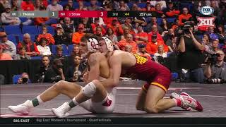 2019 Big 12 Wrestling Championship Highlights