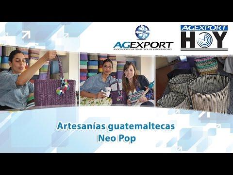 Artesanías guatemaltecas Neo Pop