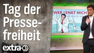 Internationaler Tag der Pressefreiheit | extra 3 | NDR