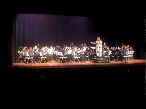 Florence Middle School Band Spring Concert - Willy Wonka and the Chocolate Factory