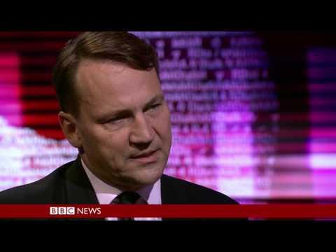 BBC HARDtalk - Radek Sikorski former Polish foreign minister 28 June 2016
