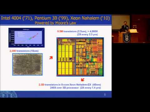 Prof. Sung Mo Kang - Memristors and Their Applications to Nanocomputing  - part 1