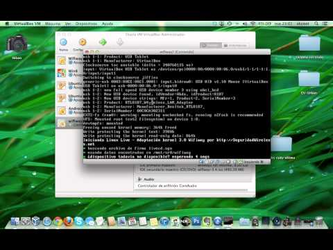 Instalar Wifiway en VirtualBox y crack wifi