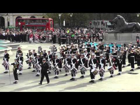 Massed Bands of the Sea Cadets - National Trafalgar Parade 2014
