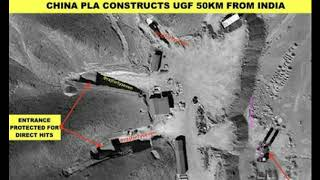 Satellite Images Reveal China Is Building Secret War Bunkers Near Indian Border