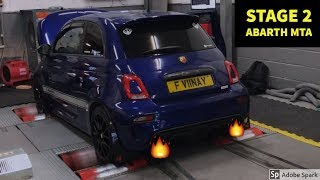 *MTA* Abarth Gets Stage 2 Tuned *Crazy Pops and Bangs Record Monza Exhaust*