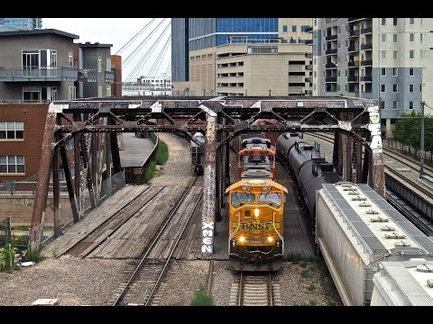BNSF & Union Pacific in Denver Colorado Part 3