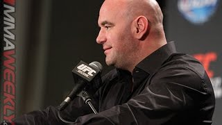 Dana White and Yoel Romero Comment on Controversy (UFC 178 Post Press)