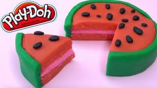 Playdoh Watermelon Cake