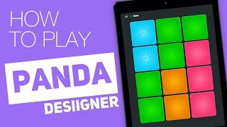 How to play: PANDA (Desiigner) - SUPER PADS - Bear Kit