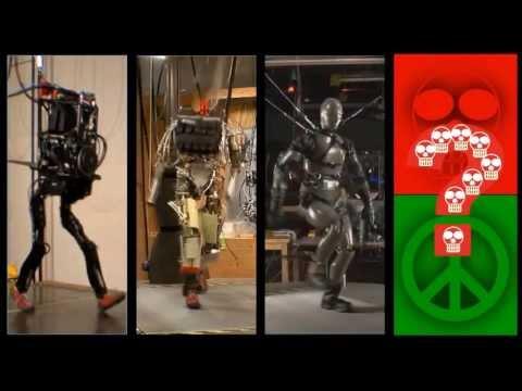 Робот который бегает своими руками