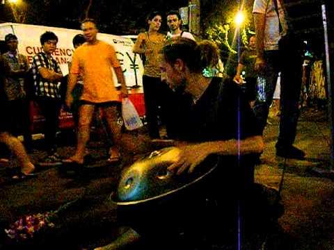 Kao San Road street artist.