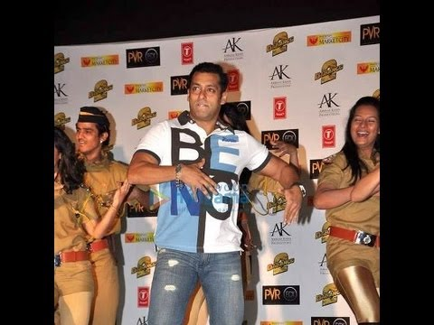 Dabangg 2 premiere: Salman Khan, Aamir Khan and Sonakshi Sinha Video