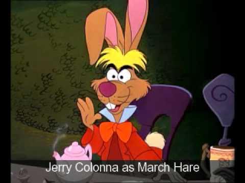 Alice In Wonderland 1951 Main Characters Cast Members