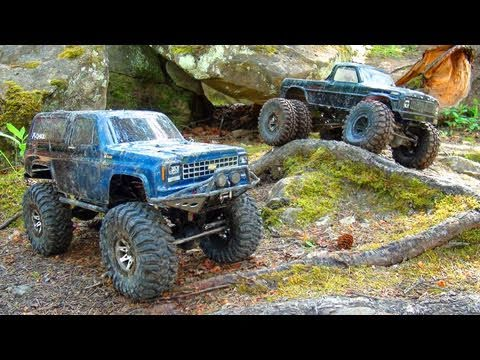 RC ADVENTURES - HILL CLIMB at DEADLY PASS - Scale 4x4 Trucks