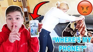 ANNOYING MY MOM FOR 24 HOURS!