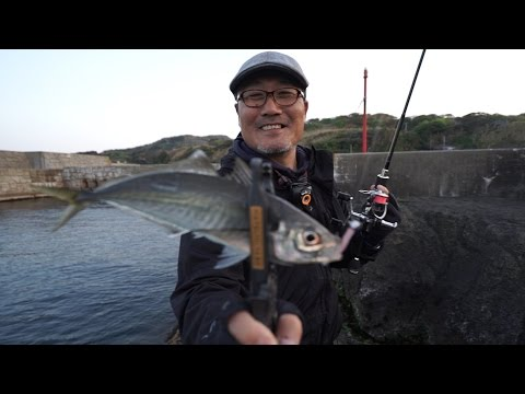 【アングリングソルト月刊化スタート!】日本海アジ&メバル探索~家邊克己