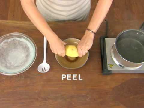 Cocina - La manera mas rapida de pelar una patata