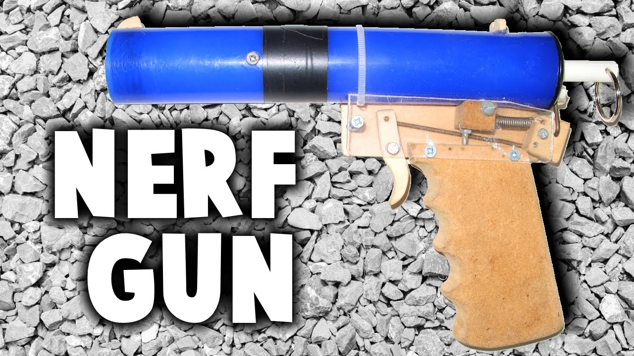 how to make your own nerf gun
