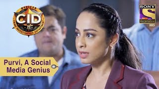 Your Favorite Character | Purvi Is A Social Media Genius | CID