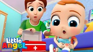 Boo Boo Song   + more Little Angel Kids Songs \u0026 Nursery Rhymes