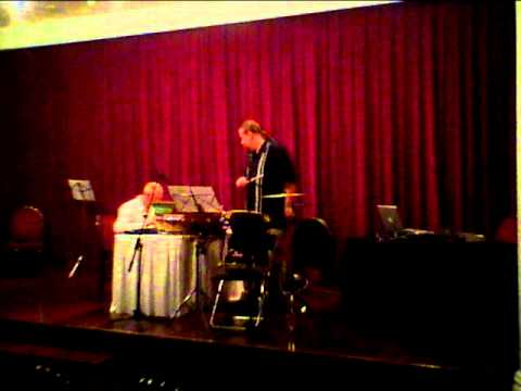 Cage Composed Improvisation Duo.MOV