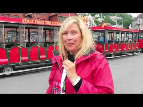 Video Tour of Bergen, Norway