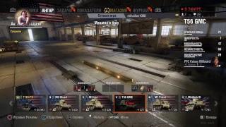 Стрим игры World of tanks Европейский сервер прокачка акка!михаилиус 1000!